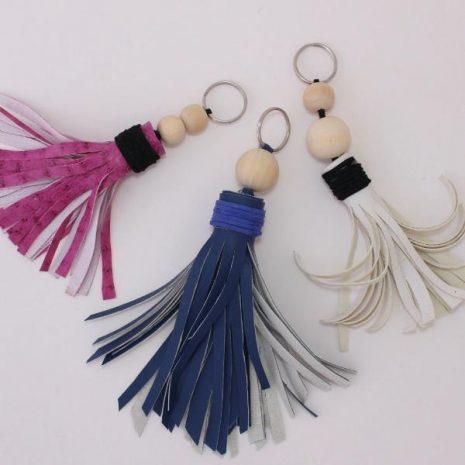 Make Your Own Leather Keyring DIY Craft Kit