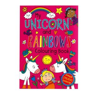 Unicorn Colouring Book 72 page a