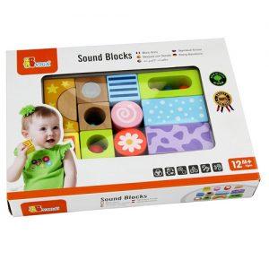 Wooden Sound Blocks