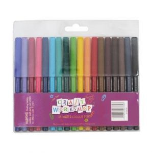 Craft Felt Pens 18 pack
