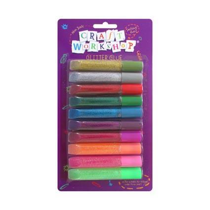 Craft Glitter Glue 10 pack