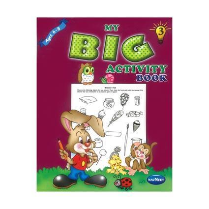 My Big Activity Book 80pg