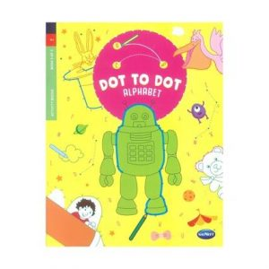 My Dot To Dot Alphabet Book 24pg