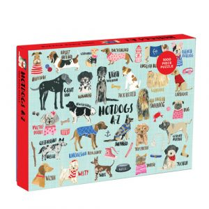 hot dogs puzzle 1000pc