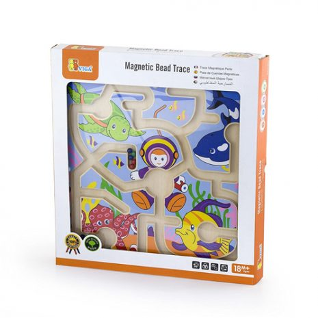 magnetic bead trace under the sea box