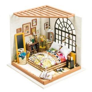 Alices Bedroom Wooden DIY House