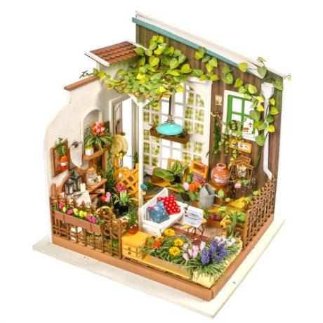 Millers Garden Wooden DIY House