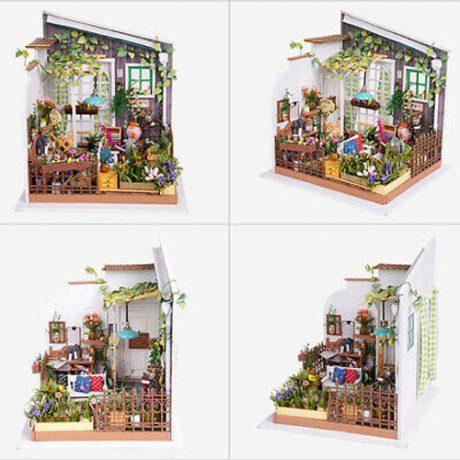 Millers Garden Wooden DIY House – a