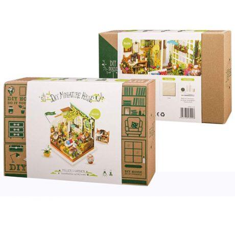 Millers Garden Wooden DIY House – boxed