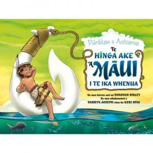 Te Hinga Ake A Maui I Te Ika Whenua