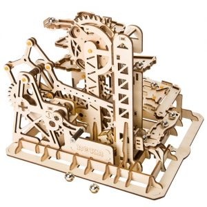 Wooden 3D Tower Coaster Marble Run