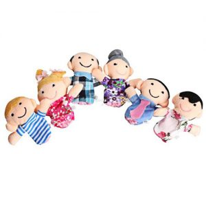 Family Generations Finger Puppets - Set of 6