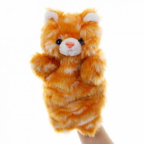 ginger cat hand puppet