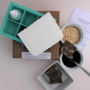 Make your own Coffee Oatmeal Exfoliating Bars DIY Craft Kit