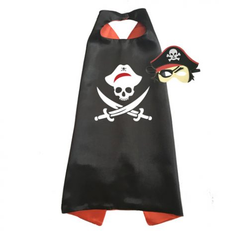 Black pirate Dress Up set