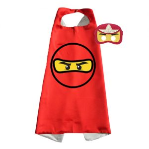 red ninja Dress Up set