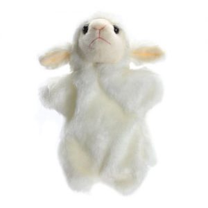 sheep hand puppet - large