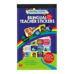 Bilingual Reward Teachers Stickers