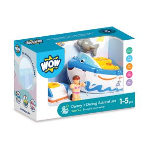 Danny's Diving Adventure Bath Toy