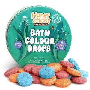 Honeysticks Coloured Bath Drops 36pk