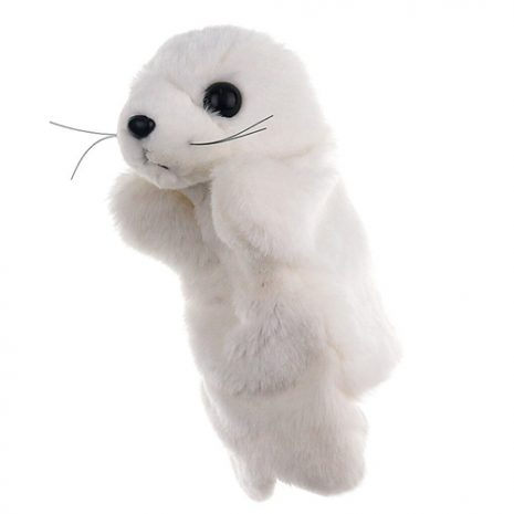 Seal Cub hand puppet - large