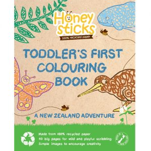Toddlers First Colouring Book - NZ Adventure