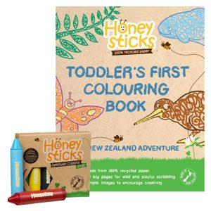 honeysticks long nz colouring bundle