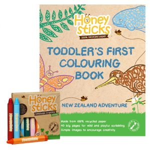 honeysticks thin nz colouring bundle