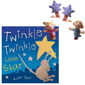 twinkle twinkle book and puppet combo