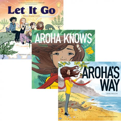 Aroha's Way Well-Being 3 Book Pack