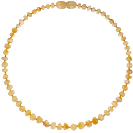 Butterscotch Amber Teething Necklace