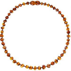 Cognac Amber Teething Necklace