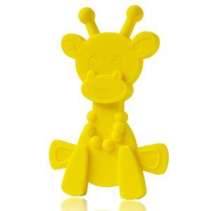 Little Bam Bam teether yellow