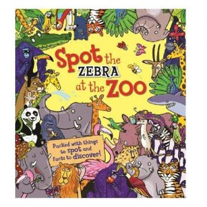 Spot the zebra at the zoo book