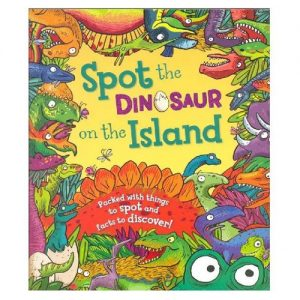 spot the dinosaur on the island book