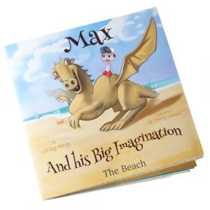 Max and his big imagination - the beach