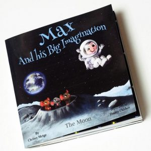 Max and his big imagination - the moon