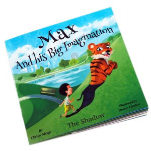 Max and his big imagination - the shadow