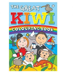 The Great Kiwi Colouring Book