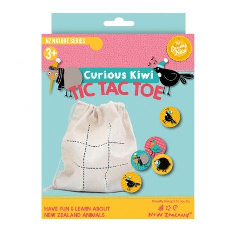 Curious Kiwi Tic Tac Toe Game