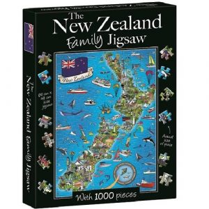The New Zealand Family Jigsaw Puzzle 1000pc