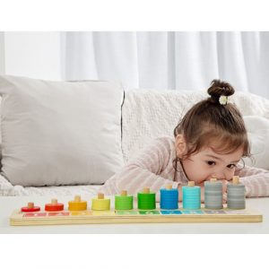 Wooden Counting Stacker
