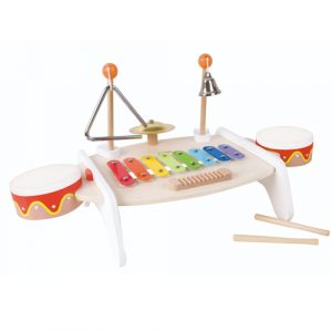 Wooden Activity Music Table