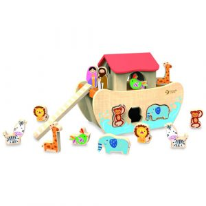 Wooden Noah's Ark Shape Sorter