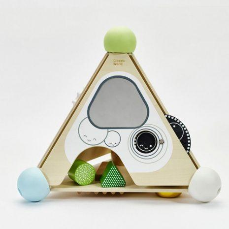 Wooden Pyramid Activity Box