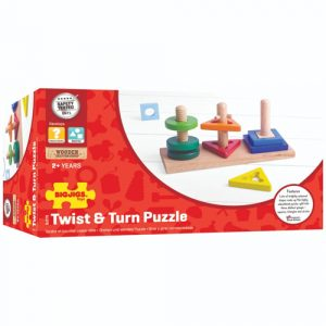 wooden twist and turn puzzle
