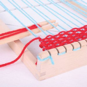 wooden Weaving Loom