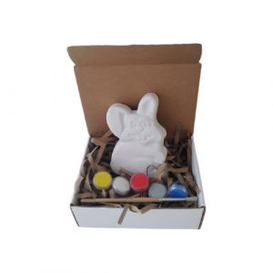 Easter Bunny DIY Concrete Craft kit