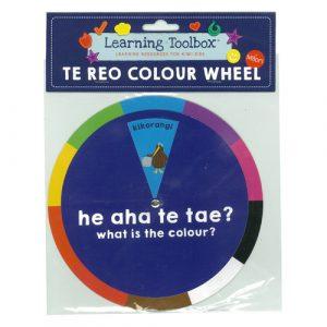 Te Reo Maori Colour Wheel