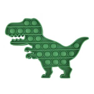 Green Dinosaur Pop It Fidget Toy